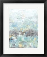 Cerulean Reflections I Framed Print
