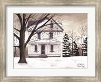 Framed Winter Porch