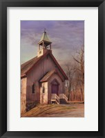 Framed Eckley St. James Church