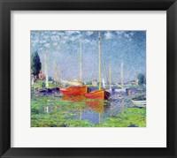 Framed Argenteuil, c.1872-5