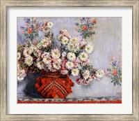 Framed Chrysanthemums, 1878