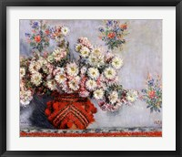 Framed Chrysanthemums, 1878