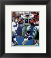 Framed Emmitt Smith 2002 Action