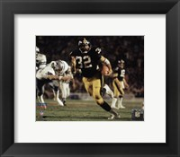 Framed Franco Harris Super Bowl XIII Action