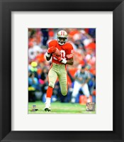 Framed Jerry Rice 1986 Action