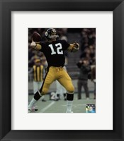 Framed Terry Bradshaw 1972 Action