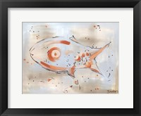 Framed Abstract Fish
