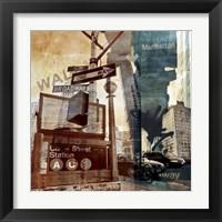 Framed Wall Street 6
