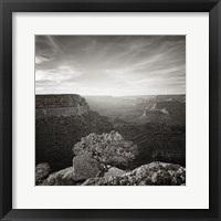 Framed Canyon Evening