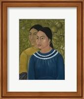 Framed Dos Mujeres (Salvadora y Herminia), 1928