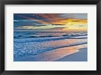Framed Sunset Reflections