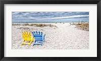 Framed Beaching It