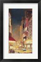 Framed City Lights