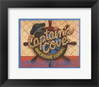 Framed Captain's Cove
