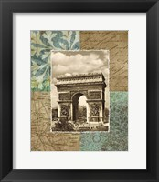Framed Paris Scrapbook I