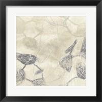 Graphite Inversion I Framed Print