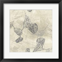 Graphite Inversion IV Framed Print