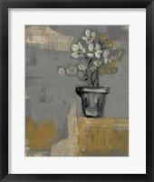 Floral Salon I Framed Print