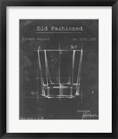 Framed Barware Blueprint I