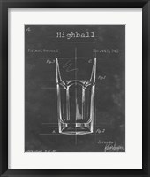 Framed Barware Blueprint II