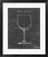 Barware Blueprint III Framed Print