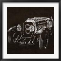 Vintage Grand Prix II Framed Print