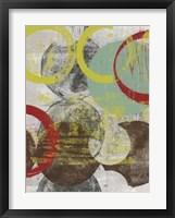 Layers & Circles I Framed Print