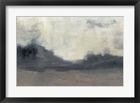 Mountain Silhouette II Framed Print