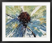 Blue Splash II Framed Print
