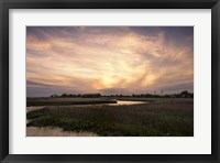 Framed Low Country Sunset I