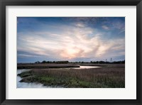 Low Country Sunset III Framed Print