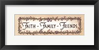 Framed Faith - Family - Friends