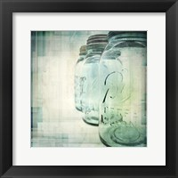 Canning Season III Framed Print