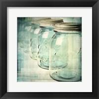 Canning Season V Framed Print