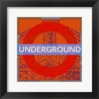 London Calling I Framed Print