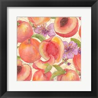 Framed Peach Medley II