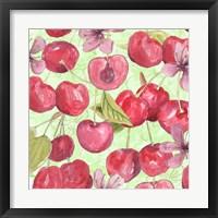 Framed Cherry Medley I
