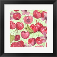Framed Cherry Medley I
