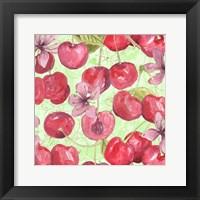 Cherry Medley II Framed Print