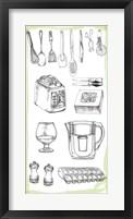 Kitchen Display II Framed Print