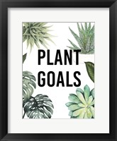 Plant Love II Framed Print