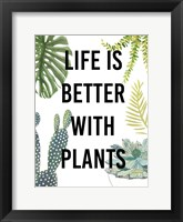 Plant Love III Framed Print
