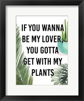 Plant Love IV Framed Print