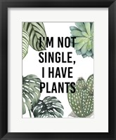 Plant Love V Framed Print