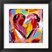 Colorful Expressions I Framed Print