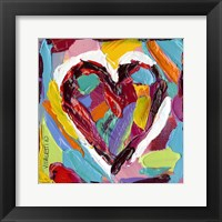 Colorful Expressions III Framed Print