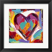 Colorful Expressions IV Framed Print