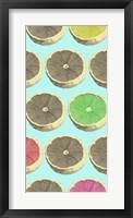 Pop Lemons II Framed Print