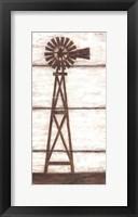 Farmhouse Windmill I Framed Print
