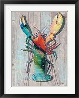 Framed Lobster I